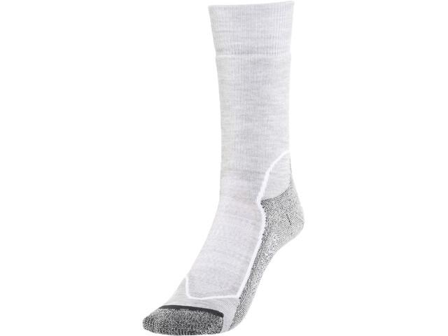 Icebreaker Hike+ Medium Crew Socks Damen blizzard hthr/white/oil